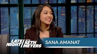 Sana Amanat Talks Ms. Marvel - Late Night with Seth Meyers