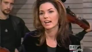 Shania Twain - Interview & Don't Be Stupid (GMA 1998)