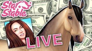 🔴 ⭐ BUYING THE BUCKSKIN LUSITANO! 🐴⭐ | Star Stable Online Live Stream