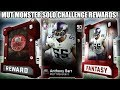 Download Video Download FREE 90 MONSTER! MOST FEARED MUT MONSTER SOLO REWARDS! | MADDEN 19 ULTIMATE TEAM 3GP MP4 FLV