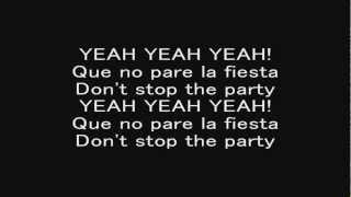 Pitbull - Don't Stop the Party (With Lyrics)