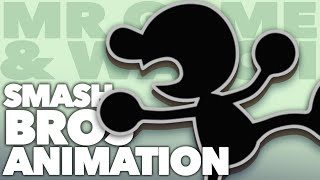 The Bizarre Animation of MR. GAME & WATCH - New Frame Plus