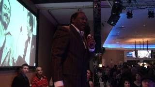 Cecil Parker  at Bob Pantano's 35th Anniversary Dance Party