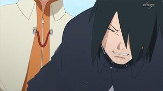 La reacción de Sasuke por la muerte de Naruto - Naruto Shippuden / Boruto