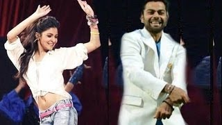 IPL 8 Opening Ceremony 2015 - Virat Kohli and Anushka Sharma Performance