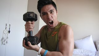10 EXERCISES 1 DUMBBELL (HOME WORKOUT)
