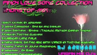 PINOY LOVE SONG COLLECTION NONSTOP MIX DJ ACEMOSH [URBAN MIX DJ's]