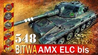 AMX ELC i cztery epickie medale! - BITWA - World of tanks