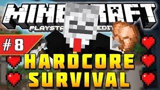 Minecraft PS3 - Hardcore Survival - Part 8 - JUNGLE TEMPLE! ( PS3 )
