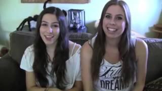 Christina and Lauren Cimorelli moments