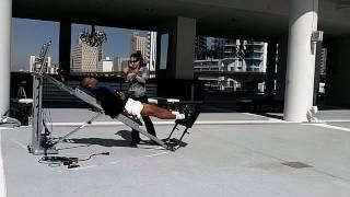 Dre Baldwin: Single Leg Bodyweight Press Jumps Pt. 1 | Vertical Training Drill Explosive Workout
