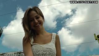 City-Feet.com - Gorgeous girl with tought soles - Sveta [2]