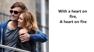 Heart On Fire - Douglas Booth [LOL (2012)] -Lyrical Video
