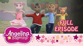 ♪ ✿ Angelina Ballerina ♪ ✿ Angelina and the Cheddar Cheese Slide (NEW EPISODE)