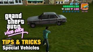 GTA Vice City - Tips & Tricks - Special Vehicles