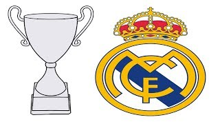 Real Madrid Uefa Champions League Champion Coloring Pages