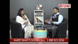 Amrit Bhatti Show   Jag Khosa   Channel Punjabi