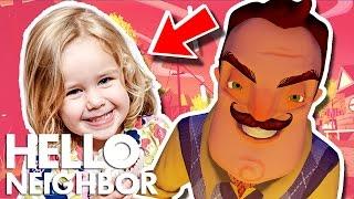 Minecraft Hello Neighbor - Did The Neighbor Kidnap Someone (Minecraft Roleplay)
