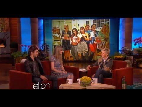Zac Taylor and Ellen talk Valentine s Day