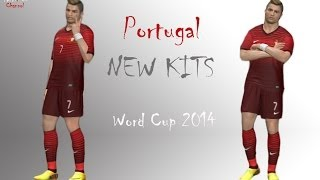 Portugal New Kits Home WORLD CUP 2014 HD | Pes 2014 |