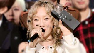 《Inkigayo WIN》 인기가요 1위 발표|태연(TAEYEON) - I(아이) 20151018