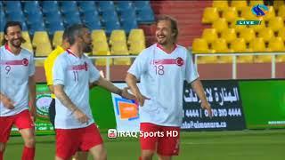 أهداف مباراة نجوم العراق ونجوم تركيا 2-4 ملعب الشعب الدولي 27-4-2018