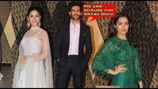 OMG Shraddha Kapoor IGNORES RIVAL Alia Bhatt At Sakshi Bhatt