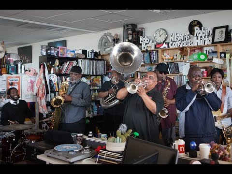 Dirty Dozen Brass Band NPR Music Tiny Desk Concert