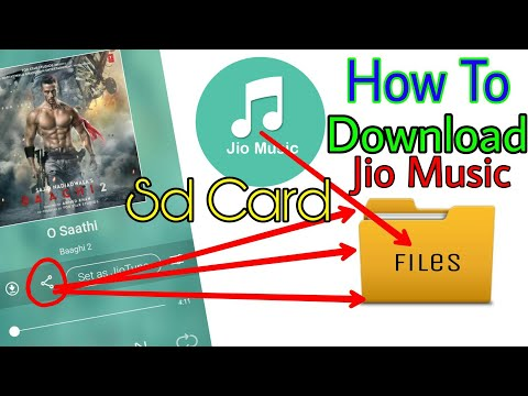 How to download jio music songs to your Sd CardMemory Card Pk Entertainments