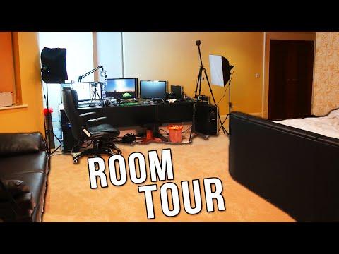 VIKKSTAR ROOM TOUR GAMING SETUP VIDEO GIVEAWAY