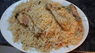 How to Make Chicken Pulao    Pakistan
