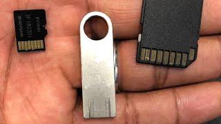 Como Reparar Memoria micro Sd dañada usb que no se formatea '