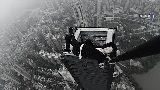 Chinese daredevil's final stunt