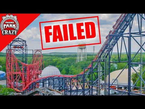 Xxx Mp4 Failed Roller Coasters Batman Robin The Chiller At Six Flags Great Adventure Ep 2 3gp Sex