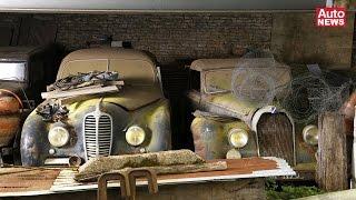 Scheunenfund der besonderen Art: Die 60 Autos des Roger Baillon