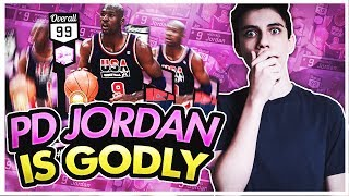 PINK DIAMOND MICHAEL JORDAN GAMEPLAY! BEST TEAM I'VE EVER PLAYED WITH?! NBA 2K17 MYTEAM