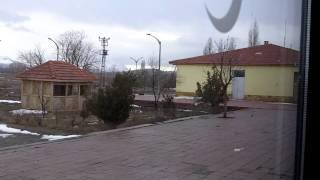 Train journey from Izmir to Erzurum, Turkey. Jan. 2010.