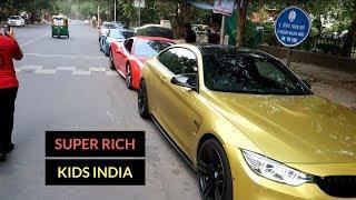 Rich kids of India   Sunday Supercar drive   Delhi