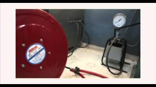 Hose Reel Testing Demo