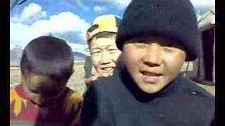 Kyrgyz boys singing