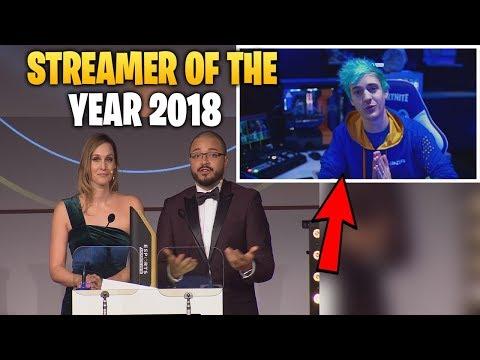 Xxx Mp4 Streamer Of The Year 2018 Announcement Ninja Wins Streamer Of The Year 3gp Sex
