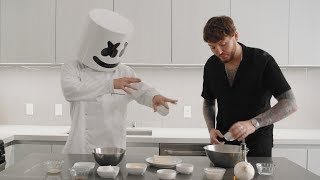 Cooking with Marshmello: How To Make Vegan Fish & Chips (feat. James Arthur)