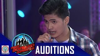 "Pinoy Boyband Superstar Judges' Auditions: Aaron Saguin – ""Di Bale Na Lang"""
