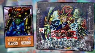BEST YuGiOh METAL RAIDERS OLD SCHOOL BOOSTER BOX (Ish) OPENING! x24 Metal Raiders Packs!