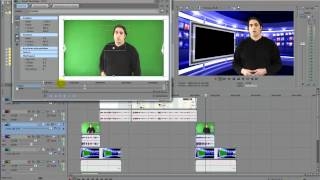 How To Chroma Key with Sony Vegas Video Editing Software