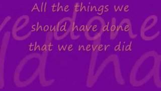 This Woman's Work: Kate Bush (with lyrics)