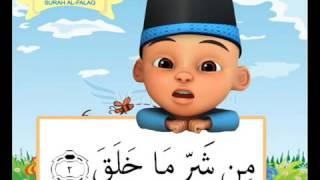 Surah al Falaq  Belajar Menghafal Al Qur'an bersama Upin Ipin