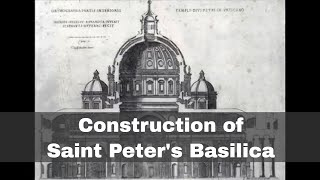 18th April 1506: Construction begins on St Peter's Basilica