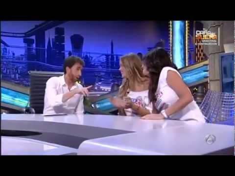 EL HORMIGUERO Paula Prendes y Patricia Montero La ropa sobraba en Fuga de Cerebros2