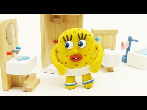Xxx Mp4 Spoiled Baby SpongeBob Morning Activity Video Play Doh Kids Stop Motion 3gp Sex
